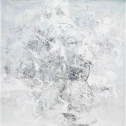 Ajim Juxta - Harap (2018) - Mixed Media on Canvas - 122 x 122 cm (SOLD)