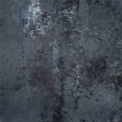 Ajim Juxta - Kelam (2018) - Mixed Media on Canvas - 122 x 122 cm