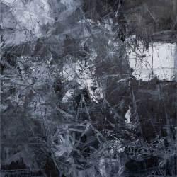 Ajim Juxta - Monomania: Mabuk II (2018) - Acrylic on Canvas - 76 x 61 cm