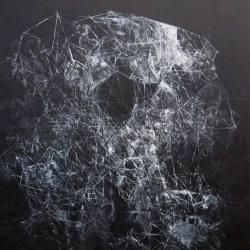 Ajim Juxta - tugu: rangka kota (2018) - Acrylic on Canvas - 183 x 152 cm
