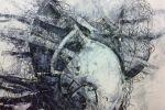 Ajim Juxta - Arcology Kokun (2016) - Acrylic on Canvas - 102 x 76.5 cm
