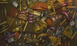 Aan Gunawan - Muhammad (Pusat Segala Sesuatu) (2014) - Acrylic on Canvas - 150 x 180 cm