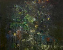 Ajim Juxta - Monomania: Takluk (2019) - Acrylic on Canvas - 183 x 153 cm