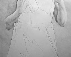 Caryn Koh - Affect (2019) - Graphite on Paper - 84 x 60 cm