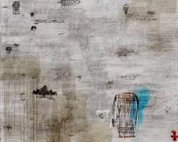 Dedy Sufriadi - Lorem Ipsum Series - Butterfly Effect (2017)- Acrylic, Marker, Oilstick, Pencil & Spray Paint on Canvas - 150 x 150 cm