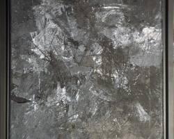 Ajim Juxta - Monomania Study ii (2019) - Acrylic on Canvas - 30 x 30 cm