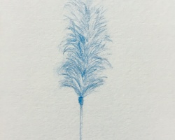 Caryn Koh - Her Wall of Mine I (Series #9) (2018)- Color Pencil on Paper - 24.1 x 18.1 cm
