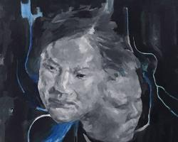 Caryn Koh - Spring I (2018) - Oil on Canvas - 30 x 30 cm (SOLD)