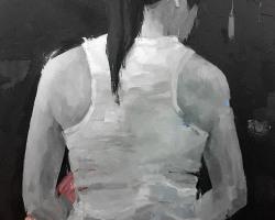 Caryn Koh, - Where I Am From (2018) - Acrylic on Canvas, - 122 x 91 cm