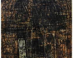 Dedy Sufriadi - Home Sweet Home (2020) - Acrylic on Canvas - 160 x 160 cm