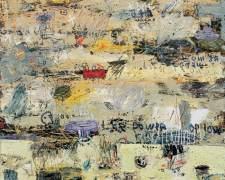 Dedy Sufriadi - Ars Longa Vita Brevis #2b (2016) - Oil, Oilstick & Marker on Canvas - 150 x 150 cm