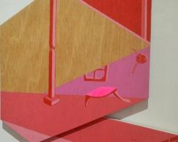 Sattama - Laman Sang (2019) - 68 x 37.5 x 2.5 cm - Acrylic on Plywood