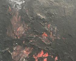 Ajim Juxta - Studies (5 of 6) (2018) - Mixed Media on Canvas - 35.5 x 22.5 cm