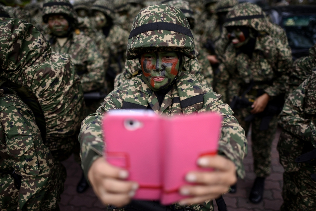 Najjua Zulkefli - If I Took A Selfie In Camouflage Would Anyone Be Able To See Me?