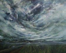 Lyia Meta - Morning's Kiss (2016) - Acrylic-on-Canvas - 92 x 122 cm