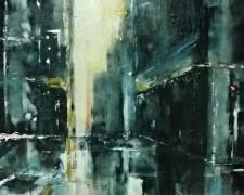 Lyia Meta - What's Between I (2015) - Acrylic on Canvas - 76 x 50 cm