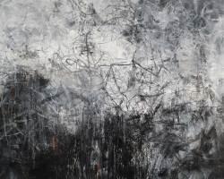 Ajim Juxta - Monomania: Bahana (2020) - Acrylic on Canvas - 122 x 122 cm