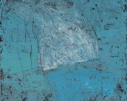 Dedy Sufriadi - Tabularasa 20.20 (2020) - Acrylic, Marker, Oil Stick and Pencil on Canvas - 100 x 80-cm