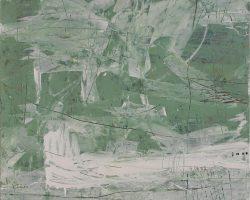 Dedy Sufriadi - Tabula Rasa: Amor (2019) - 150 x 150 cm - Acrylic Marker and Oil Stick on Canvas
