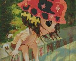 Laksamana Ryo - Awareness (2020) - Acrylic on Canvas - 100 x 80 cm
