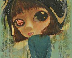 "Laksamana Ryo - Popular Memory: ""conan"" (2020) - Acrylic on Canvas - 60 x 45 cm"