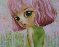 Laksamana Ryo - The Gift (2020)- Oil Acrylic on Canvas- 60 x 45 cm
