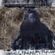 Rahman-Roslan - Dari Syurga Tiada Gentar (2015) - Mixed Media on Paper - 18 x 18 cm (37 x 37 cm w/ frame)