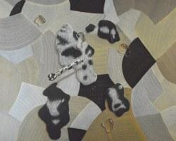 Aan Gunawan - Kamuflase (Camouflage) (2009) - Acrylic on Canvas - 180 x 200 cm