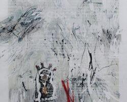 Dedy Sufriadi - Rush Hour (2015) - Mixed Media on Canvas - 150 x150 cm