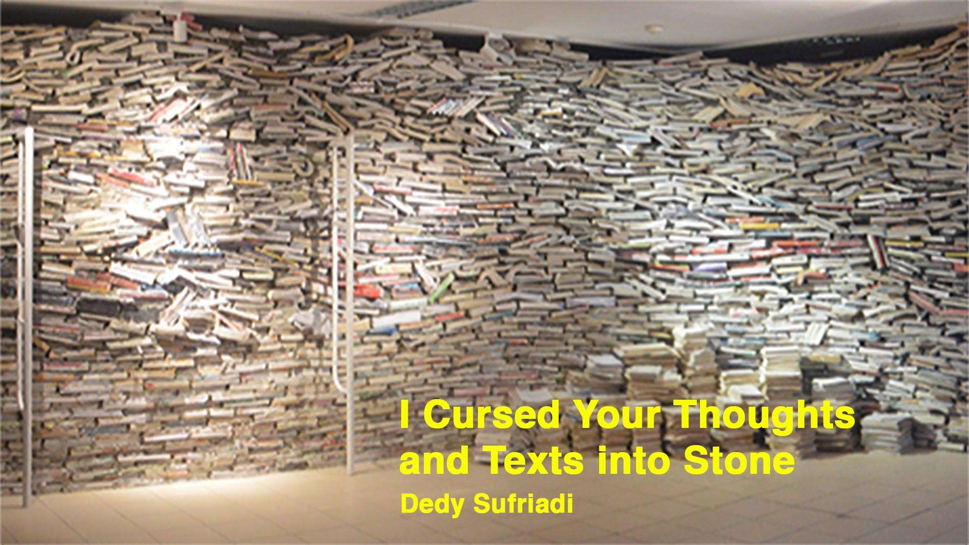 Feature image for Dedy Sufriadi's large scale installation