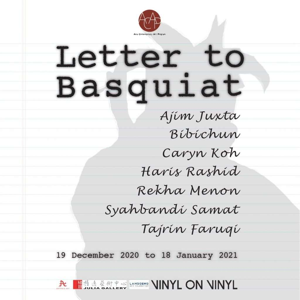 Letter to Basquiat
