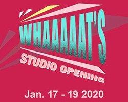 WHAAAAAT'S Studio Opening - Webpage Cover